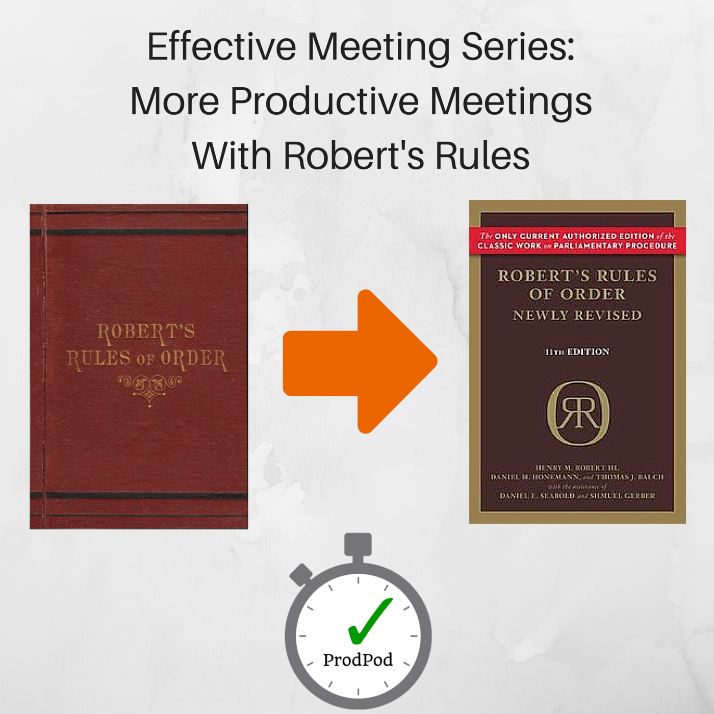 ProdPod - Effective Meeting Series-More Productive MeetingsWith Robert's Rules, Part I