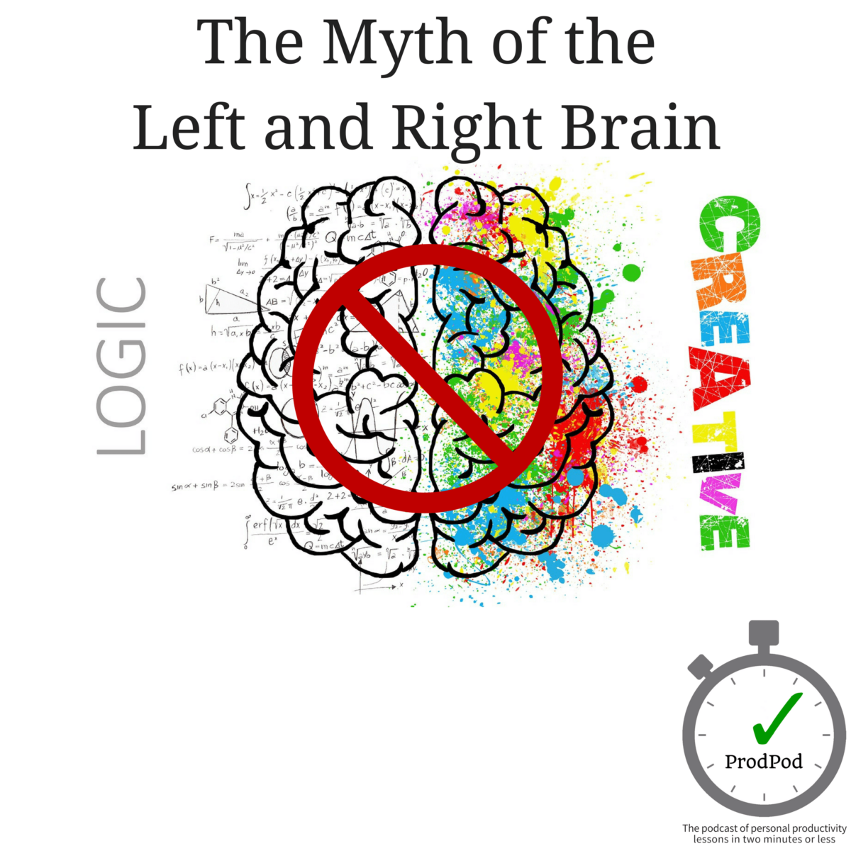 Myth of the Left and Right Brain - ProdPod